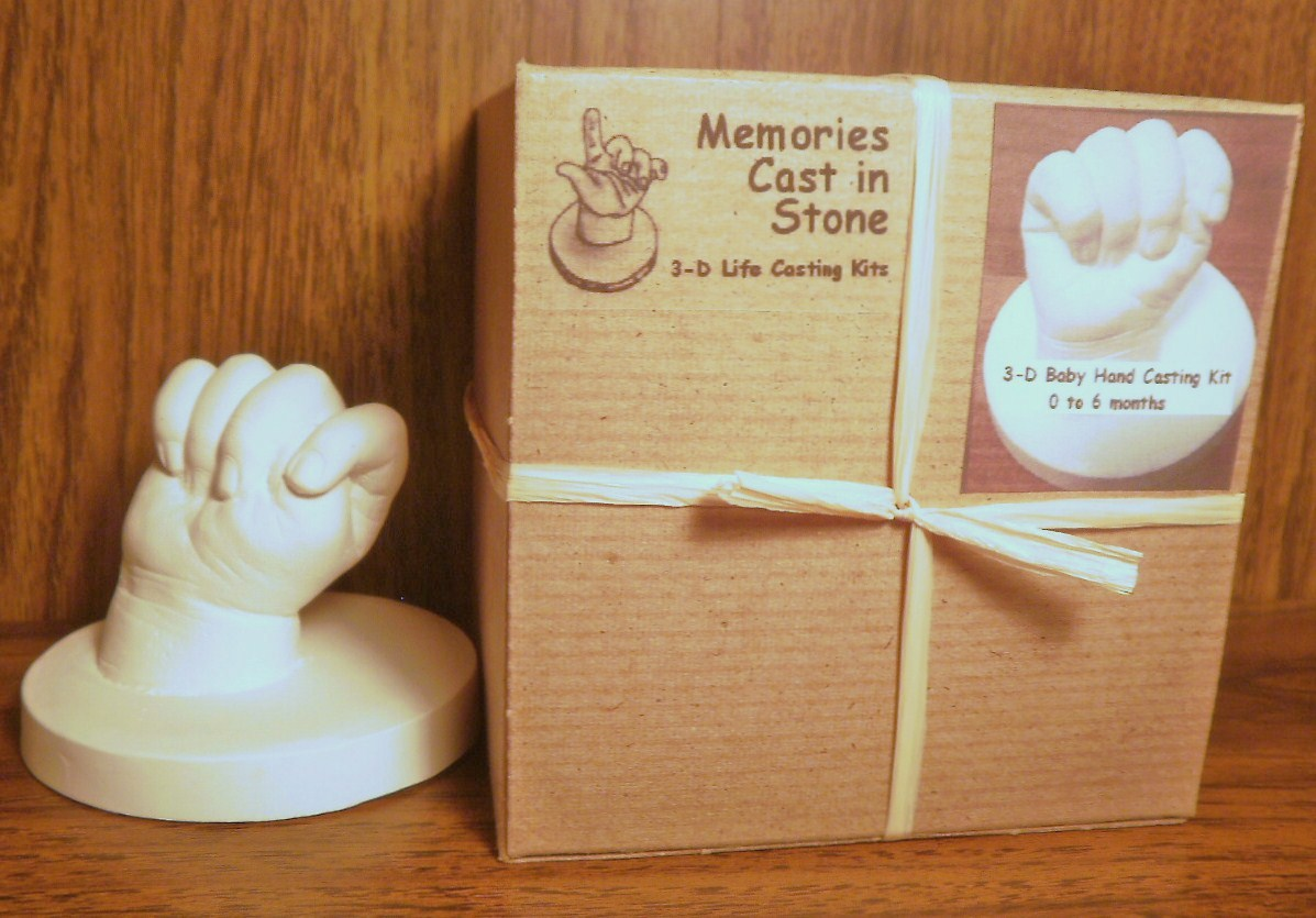 With Child :: Pregnancy & Birth :: Baby Hand Casting Kit